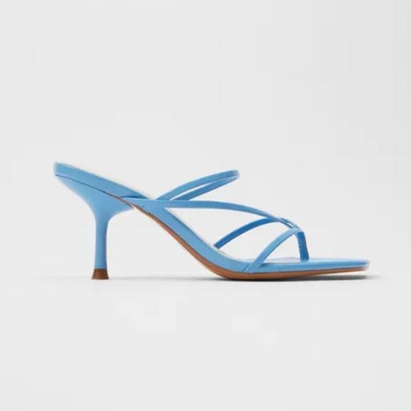 Zara Strappy Heeled Sandal 36.5